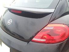 Volkswagen Beetle 2012 Trunk Spoiler Rear Painted Paintcoat TORNADO RED LY3D