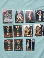 2018-19 Larry Bird Auto Lot x17 + Prizm + Mosaic + NBA Hoops