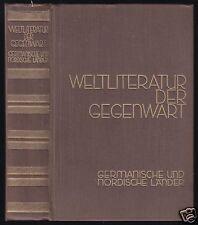 Weltliteratur der Gegenwart 1890 - 1930, Erster Bd., Germanische und nordische L