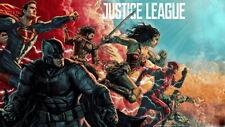 "154 Justice League - Superman Wonderwoman Batman Hero Movie 24""x14"" Poster"