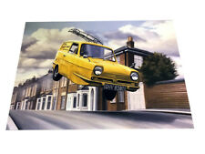 Only Fools and Horses The Trotter Van – Colour Art Poster A3