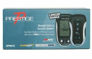 Audiovox Prestige APS997Z 2-Way Car Remote Start and Alarm Security 1 Mile NEW
