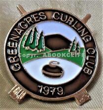 GREENACRES CURLING CLUB SCOTLAND Pin