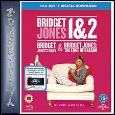 BRIDGET JONES 1 & 2 - 2 MOVIE COLLECTION  **BRAND NEW BLURAY BOXSET**