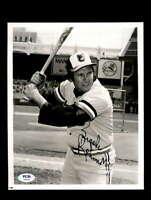 Brooks Robinson PSA DNA Coa Hand Signed 8x10 Vintage Photo Autograph