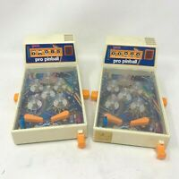 Galoob Pro Pinball Vintage 1970's 80's Japanese Retro Game Lot of 2 Complete Vtg