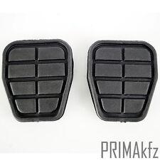 2x Pedalgummi Pedalbelag für Bremse und Kupplung VW Golf II III Jetta Polo