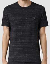 ALLSAINTS Black Fraction Tonic Crew T-shirt Top - XS S M L