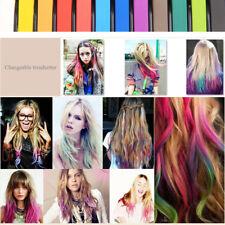 24Colors Haar Temporäre Kreide Dye Color Kit Pastelle Farbe Salon Kit Non Toxics