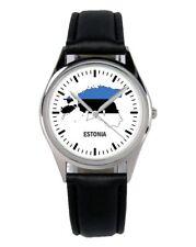 Estland Estonia Souvenir Geschenk Fan Artikel Zubehör Fanartikel Uhr B-1115