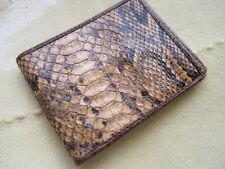 python skin GUCCI Diamond Skin vintage Mens Bifold Wallet Jame Bond AUTHENTIC+