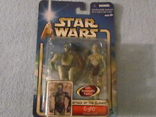 Hasbro/Kenner Star Wars ATTACK OF THE CLONES; C-3PO Protocal Droid;  New 2002