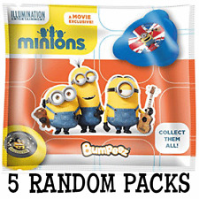 Despicable Me Minions 10 Random Bumpeez (5 SEALED PACKS)