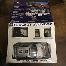 Nikko Remote Control Peugeot 206 WRC Rare RDC-14693 Boxed Retro
