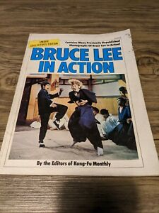 BRUCE LEE IN ACTION BOOK KFM KUNG FU MONTHLY