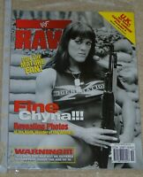 WWF MAGAZINE RAW OCTOBER 1998 WRESTLING CHYNA COVER & POSTER WWE RARE