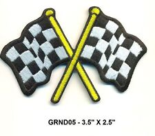 """GRINDHOUSE MOVIE """"CHECKERED FLAG"""" PATCH - GRIND05"""