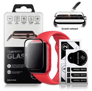 3D Displayshutz Glas Apple Watch 4 5 6 SE 38mm 40mm 42mm 44mm iwatch Panzerfolie