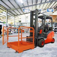8 Safety Cage Work Platforms Forklift Safety Cage Basket Hooking Chain 1100cap