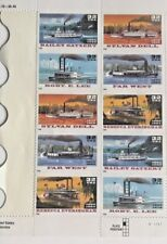 Scott 2405-2409 10-32 Cents Classic Steamboats Postage Stamps MNH