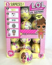 NEW Authentic SERIES 3 LiL Little Sisters LOL Surprise DOLL 1 Ball L.O.L 5 Layer