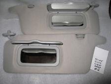 LIGHT GRAY SUN VISORS #2 2001 - 2005 HONDA CIVIC VERY NICE
