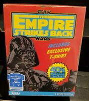 Walmart Excl Funko Star Wars Empire Strikes Back Darth Vader Size Large Shirt
