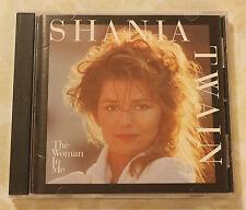 SHANIA TWAIN THE WOMAN IN ME CD VGC