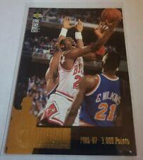 1995-96 UD Collectors Choice  MICHAEL JORDAN Jordan Collection Insert BULLS JC2