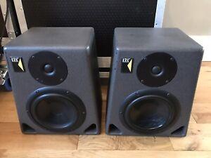 """Original MK1 KRK ROKIT 6"""" 2-Way Passive Studio Monitors - Fully Working"""