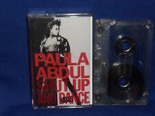 PAULA ABDUL SHUT UP AND DANCE MIXES - RARE AUSTRALIAN CASSETTE TAPE