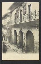 """2531.-FUENTERRABIA -Casa Consistorial """"Tiburcio Berrotara¨(Tarjeta Sin División)"""