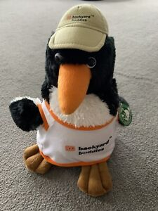 Backyard Buddies Penguin With Hat Soft Toy 33cm..