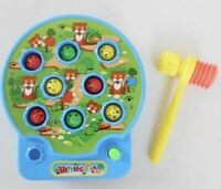 Music Toy Whack a Mole Young Kids Hammer Hit Them Bang Game Modern Toys