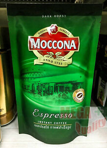 Moccona Espresso Instant Coffee Dark Roast Strong Taste 120g