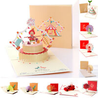 3D Pop Up Greeting Card Happy Fathers Day Handmade Dad Birthday Love Anniversary