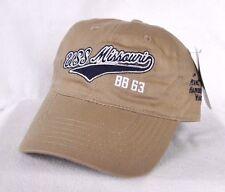 *USS MISSOURI PEARL HARBOR HAWAII* Battleship Ball cap hat *OURAY* embroidered