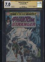 Phantom Stranger #8 CGC 7.0 SS Neal Adams 1970 signed