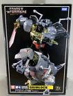 Transformers Takara Masterpiece MP-8 Grimlock Complete +King Crown Flame Sword