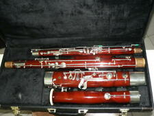 NICE USED  BASOON + TWO BOCALS, GREAT USED CONDITION