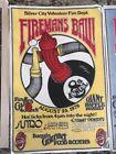 6 Rare Vintage Firemans Ball Posters Great Artwork - Motivated Seller Make Offer