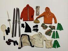Vintage Ken Doll Clothing TLC Lot - Skiing, Boxing Skating, Scuba SPORTS