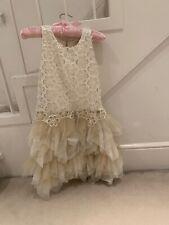 Miss Grant Designer Girls Party Dress 8yrs