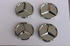 Mercedes 4x Radnabenabdeckung  / Nabendeckel / Felgendeckel / Felgen 70mm NEU