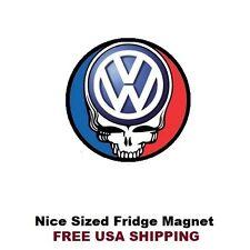 211 -  Nice Grateful Dead Volkswagen VW Refrigerator Magnet