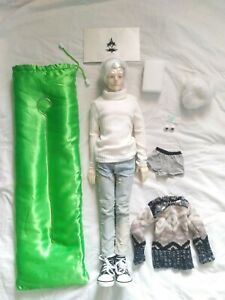 Hybrid BJD, Doll Chateau Snowborn Head on Mirodoll 60cm Male Body, SD 1/3