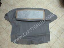 Cappotta Bmw Z3 roadster cabrio tessuto di ultima generazione, colore grigio.