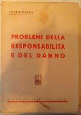 Montel A. - PROBLEMI DELLA RESPONSABILITÀ E DEL DANNO - 1953, Intonso