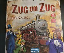 Zug um Zug, Ticket to Ride, Spiel des Jahres 2004, Alan R. Moon, Days of Wonder