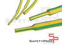 Funda termoretractil Termocontraíble 3MM  2:1 Tierra Verde Amarillo